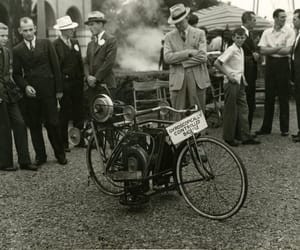1930s, bicycle, and gyroscope image