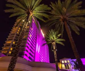 hotel, light, and luces image
