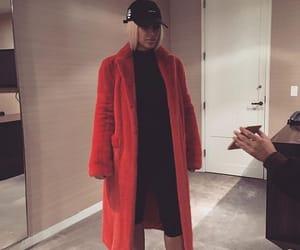kim kardashian, red, and beauty image