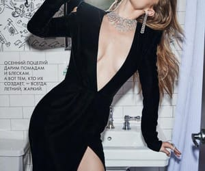 gigi hadid, model, and tatler russia image