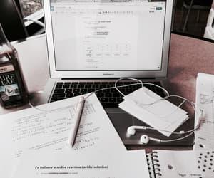 study, school, and laptop image