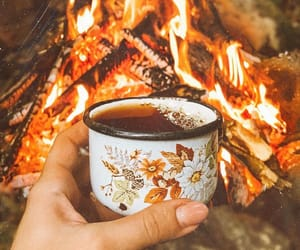 coffee, autumn, and camping image