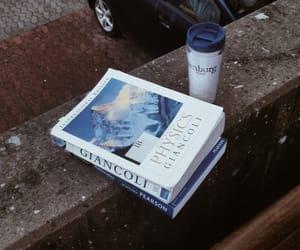 book, mug, and starbucks image