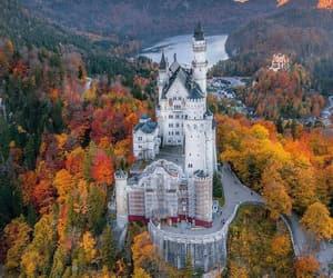 adventure, autumn, and castle image