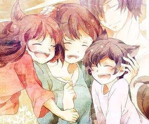 anime, wolf children, and yuki image