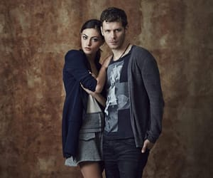 phoebe tonkin, joseph morgan, and The Originals image