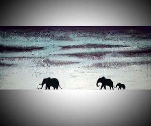 africa, animal art, and painting image