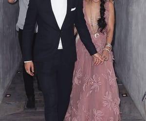 couple, vanessa hudgens, and dress image