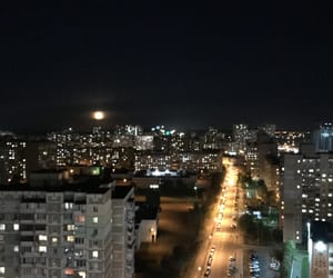 kiev, moon, and night image