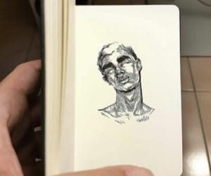 art, draw, and drawings image