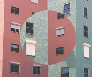 pink, indie, and building image