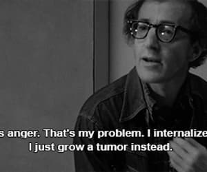 gif, manhattan, and woody allen image