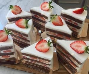 cake, delicius, and dulce image