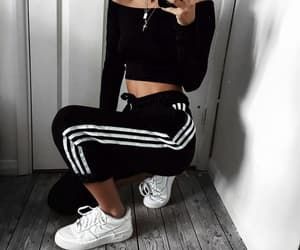 adidas, fashion, and girl image