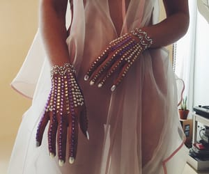 aesthetic, pearls, and pink image