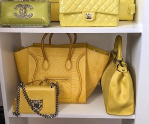 bags, chanel, and closet image