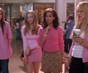 mean girls, girl, and pink image