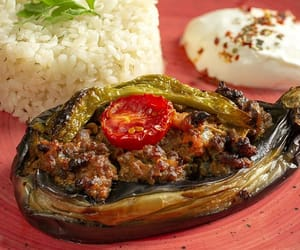 delicious, hatay, and eggplant image