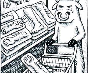 animal, vegetarian, and cows image