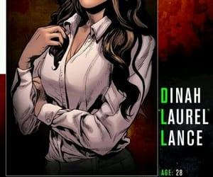 arrow, dinah laurel lance, and dctv image