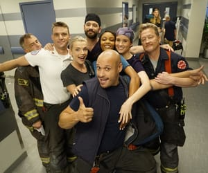 chicago fire, chicago pd, and chicago med image