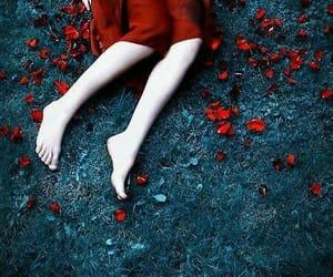broken, red, and wallpaper image