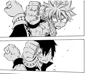 fairy tail, dragneel brothers, and natsu vs zeref image