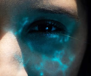 blue, fae, and fantasy image