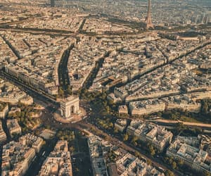 travel, parís, and city image