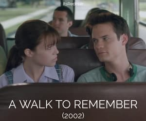 A Walk to Remember, movie, and teenager image
