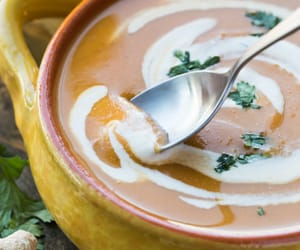 cream, food, and soup image