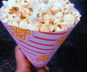 aesthetic, popcorn, and enjoylife image