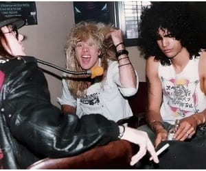Guns N Roses, slash, and steven adler image