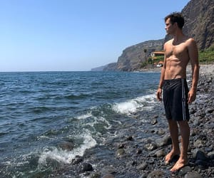guy, travel, and model image
