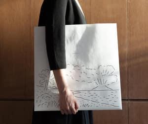 black and white, illust, and illustration image