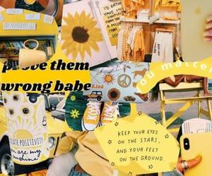 tumblr, amarillo, and fondos image