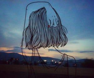 sad, art, and indie image