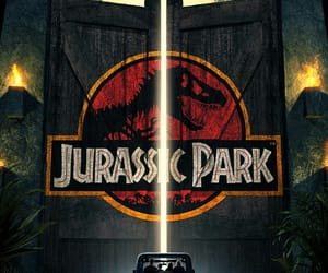 Jurassic Park, movies, and scifi image