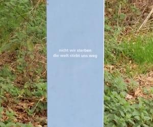 deutsch, spruch, and kunst image
