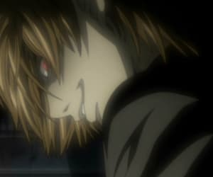 death note, kira, and light image