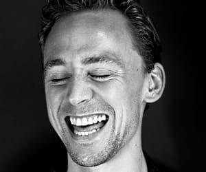 black&white, model, and tom hiddleston image