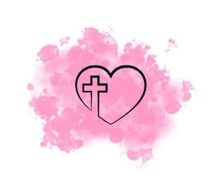 cross and pink image