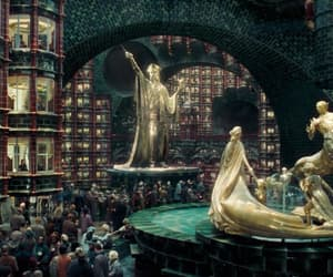 architecture, film, and harry potter image