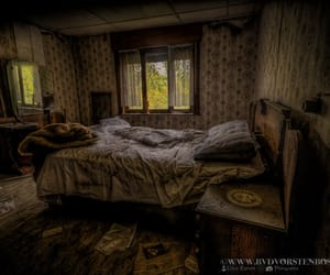abandoned, bedroom, and decayed image