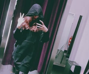 aesthetic, black, and clothes image