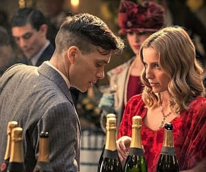 cillian murphy, annabelle wallis, and peaky blinders image