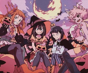 anime, boku no hero academia, and Halloween image
