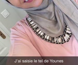 belle, hijab, and muslim image