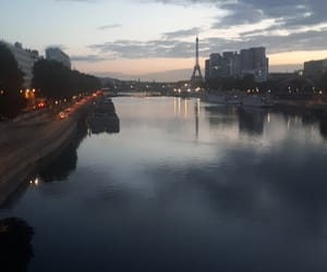 ciel, france, and Seine image