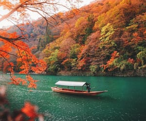 travel, adventure, and autumn image